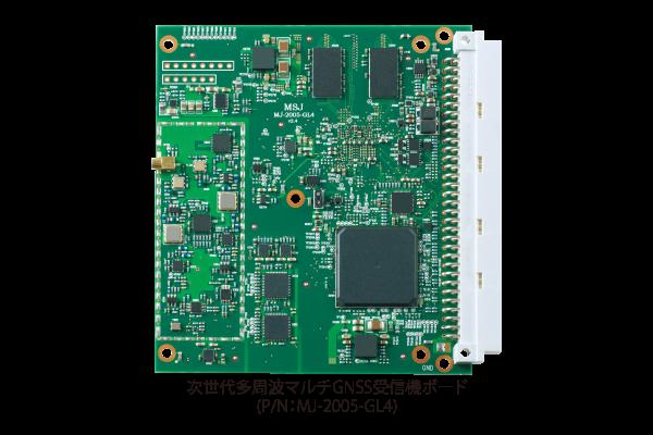 次世代多周波マルチGNSS受信機ボード (P/N:MJ-2005-GL4)
